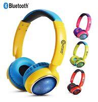 Contixo KB-300 Best LED Wireless Bluetooth Kid Safe 85dB Over The Ear Headphone