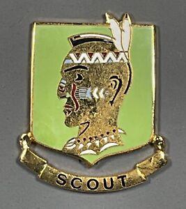 US Army 16th Reconnaissance Company DUI DI Unit Crest CB NHM
