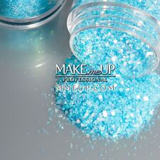 ICE flakes Glitter Iridescent AB Holographic Frozen mix glowing face painting