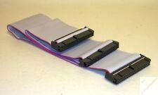 k_ CD DVD HDD Kabel 45cm f. 2 Festplatten alle Pins offen IDE PATA ATA 40pol _fy