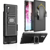 For Samsung Galaxy Note 10/10 Plus Holster Belt Clip Case Hybrid Defender Cover