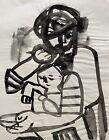 CARLOS CARNERO (1922-1980) MOTHER & CHILD STUDY - ORIGINAL PAINTING