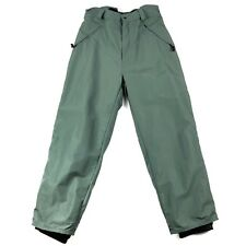 DRIFT BOARDWEAR boys' snow ski pants size XL gray green O308