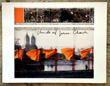Christo The Gates offset  36,5 x 28,5 cm hand signed