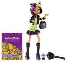 Monster High Clawdeen Wolf New scare-amtsborgmester coleccionista muñeca raramente bgt26