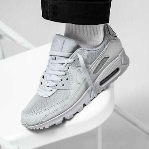 Nike Air Max 90 Wolf Grey/Wolf Grey Men's Sz 14 (CN8490 001)