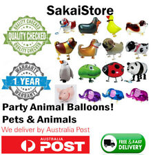 Animal Head Balloons Helium Foil Ballons Baby Shower Birthday Party Decorations#