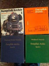 Bücher Dampflokarchiv 1-4