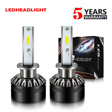 for HYUNDAI Genesis Coupe 2010-12 LED Headlight Kit H1 40W 6K High Beam Bulb DTH