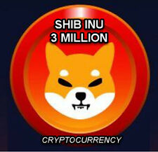 3,000,000 SHIBA INU CRYPTO-CURRENCY!!! 24 Hrs In Your Wallet