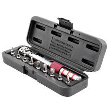 "1/4"" DR 2-15Nm Mini Adjustable Bike Torque Wrench Set Bicycle Repair Tools Z6F7"