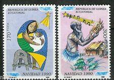 Equatorial GUINEA ECUATORIAL Edifil # 131/132 ** MNH Navidad / Christmas