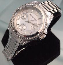 Damas Mini Blair día Genuino Michael Kors Fecha Reloj MK5612 de diseñador