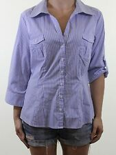 H&M Collared Casual Regular Size Tops & Shirts for Women