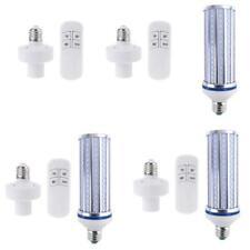 60W UV Germicidal Lamp LED UVC Bulb E26 E27 Disinfection Timing Remote Control