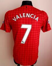 MANCHESTER UNITED 2012 2013 ORIGINAL SOCCER FOOTBALL SHIRT JERSEY VALENCIA #7