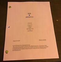 Bob Hearts Abishola TV Script Pilot 8/23/18 Billy Gardell Folake Olowofoyeku