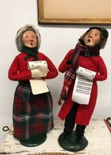2 Vintage Byers' Choice Ltd. The Carolers 1989