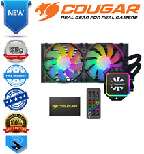 Cougar Helor 240mm CPU Liquid Cooling with Addressable RGB