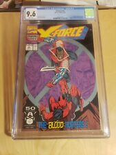 X-Force #2 CGC 9.6 White pages. 1st Weapon X, 2nd App. Deadpool. Direct Edition.