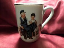 Norman Rockwell Lighthouse Keeper's Daughter cup mug