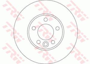 TRW Brake Rotor Front DF4309S fits Volkswagen Multivan 2.5 TDI 128kw, 2.5 TDI...