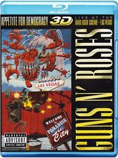 GUNS N' ROSES :APPETITE FOR DEMOCRACY (3-D) -  Blu Ray - Sealed Region free