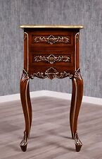 baroque table de chevet Bac COMMODE ANTIQUE massif Empire console lit