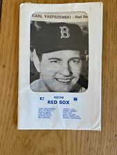 1967 Boston Red Sox team issued photo cards in original envelope