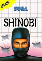 Shinobi - SEGA Master System (Boxed & Fair Condition)