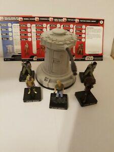 Star Wars Miniatures Golan Arms Anti Infantry & Rebel Leader Rebel Team Builder