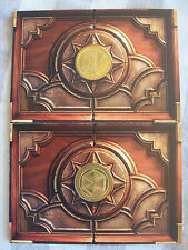 Bizzcon 2014 Exclusive Doublesided Hearthstone Coin with Holder-Set of 2 NIP NM
