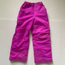 Columbia Girls Snow Ski Pants Omnitech Size Small