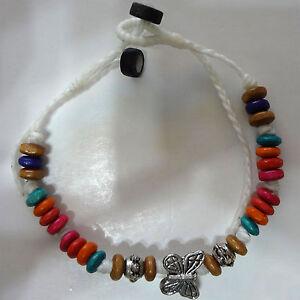 White Butterfly Bracelet Wristband Bangle Womens Girls Kids Childrens Jewellery