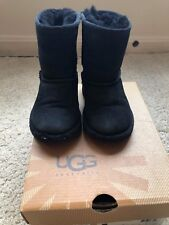 UGG Toddler Boys T Classic 5251TT Black Boots Size 8