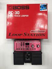 Boss RC-30 Dual Track Loop Station Looper Sampler Guitar Effect Pedal + Box