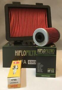 Service Kit For KTM 125 DUKE (2017 to 2021) Air Filter, Oil Filter & Spark Plug