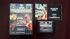 Super Wrestlemania ( Sega Mega Drive ) European Version Pal