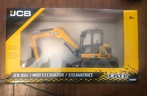 ERTL JCB Model 86C-1 MIDI Excavator 1/32 Scale Diecast   SEALED