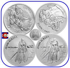 2017 2018 2019 South Korea ZI:SIN Gallus Canis Scrofa & Ghost 4-1oz Silver Coins