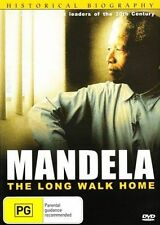 MANDELA: THE LONG WALK HOME - BRAND NEW & SEALED R4 DVD (HISTORICAL BIOGRAPHY)