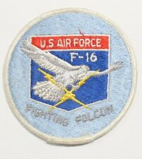 USAF Air Force Patch: F-16 Fighting Falcon - round