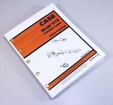 Ji Case W18 Articulated Loader Parts Manual Catalog Wheel Loader Pcn E 1169