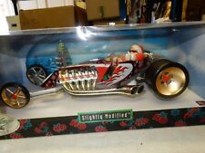 SANTA'S HOT ROD  1/18 SCALE DIECAST SLIGHTLY MODIFIED SHOW CAR IN BOX HOT WHEELS