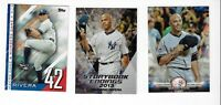 MARIANO RIVEREA NEW YORK YANKEES LOT OF 3 INSERT CARDS