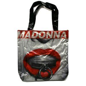 Madonna Vinyl PVC Tote Bag - Rebel Heart Live - Concert Tour Exclusive