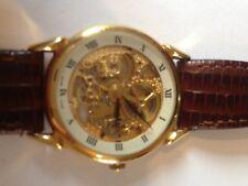 Alfex Swiss Mechanical Wind Up Skeleton Wrist Watch 1960