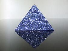 Grandi 12x9cm Orgone Albero della Vita filosofi Pietra Piramide monatomic GOLD ORME