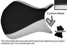 WHITE & BLACK CUSTOM 07-08 FITS KAWASAKI NINJA ZX6R FRONT SEAT COVER