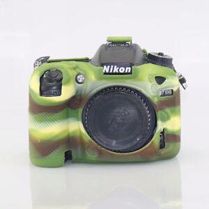 For Nikon D7100 D7200 CASE Camera Video Bag Silicone Case Rubber Protective case